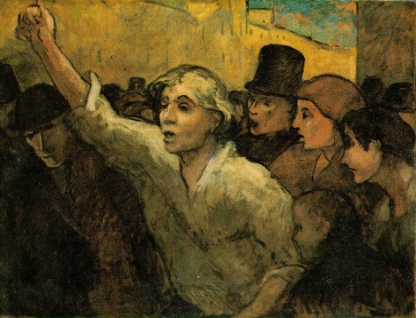 Honore_Daumier_The_Uprising Original