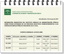 Calendario OEP 2016 300