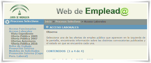 cut Acceso laborales WEP