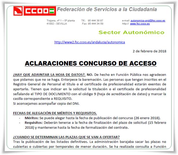 FAQS acceso G III 050218