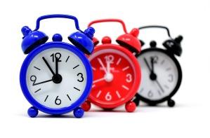 relojes blue red black