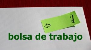 bolsa trabajo sticky note verde bg