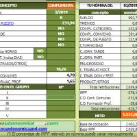 [útil]🧮 Calculadora de nómina para personal laboral del VI Convenio