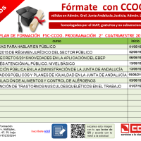 FORMACIÓN  FSC CCOO Andalucía