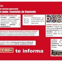 📌La bolsa única, más plazas de laborales en OEP, el proyecto de nueva instrucción de permisos... Toda la información sobre la Comisión de Convenio de hoy