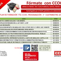"""Otros 11 cursos de CCOO: ✅homologados, 🆓gratuitos y 🖱online (convocatoria para ámbito """"Málaga"""")¡Fórmate con tu sindicato!"""