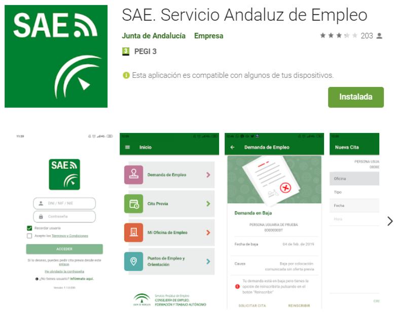 App SAE