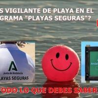 🏖️[actualizado 16/07] ¿Eres auxiliar de control de playas? Aquí tienes todo lo que debes saber