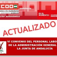 [♻️ actualización abril/2021] VI Convenio Colectivo del personal laboral de la Administración General de la Junta de Andalucía